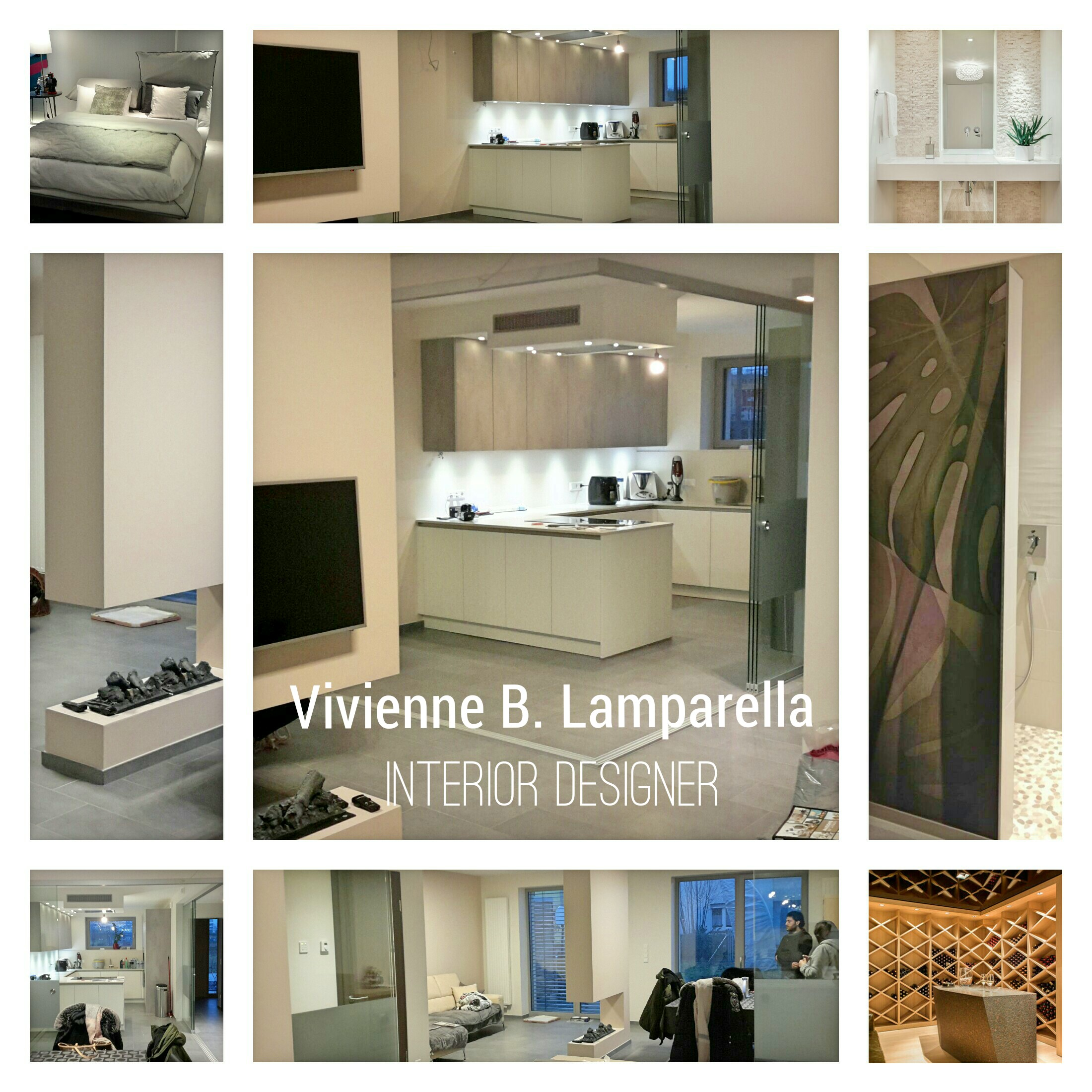 Vivienne Lamparella  Interior decorator House and home